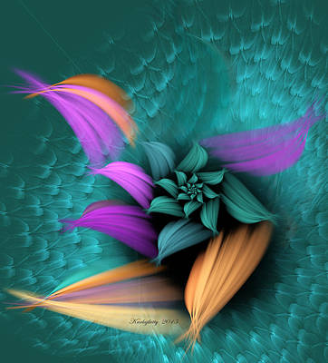 Digital Art - Apo Flower by Karla White