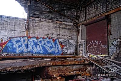 Emotional Blocks Digital Art - Apocalypse Detroit 9 by Walter Oliver Neal