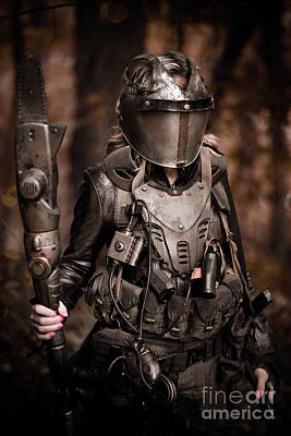 Huntress Photograph - Apocalypse Warrior by Jt PhotoDesign