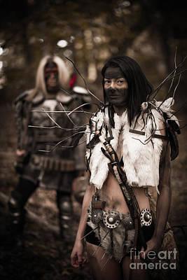 Huntress Photograph - Apocalypse Warriors by Jt PhotoDesign