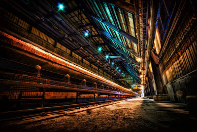 Photograph - Apocalyptic Conveyor by Mark Perelmuter
