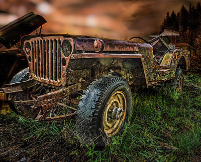 Photograph - Apocalyptic Jeep by Bill Posner