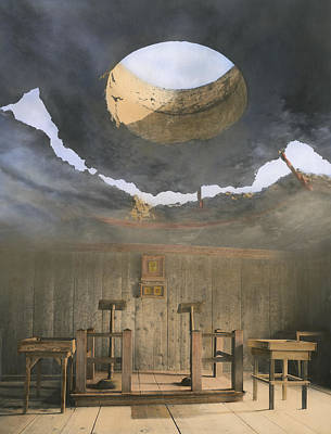 Jefferson Memorial Mixed Media - Apocalyptic Lessons by Bob Bennett