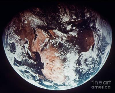 Photograph - Apollo 11: Earth by Granger