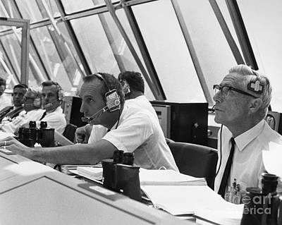 Photograph - Apollo 11 Launch Control by Granger