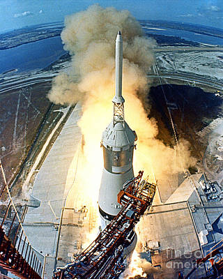 Photograph - Apollo 11 Launch by NASA  Science Source