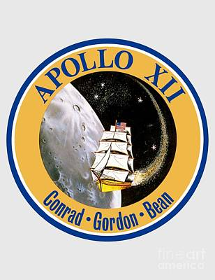 Art Gallery Painting -  Apollo 12 Insignia by Art Gallery