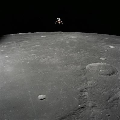 Apollo 12 Lunar Module Intrepid Landing Art Print