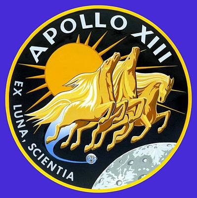 Apollo 13 Art Print by Otis Porritt