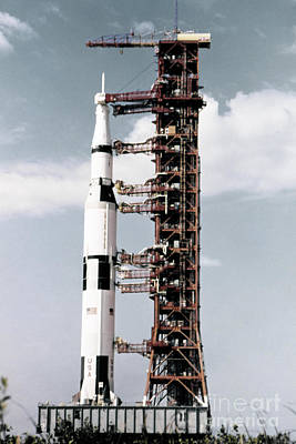 Photograph - Apollo 13, Rollout, 1970.  by Granger