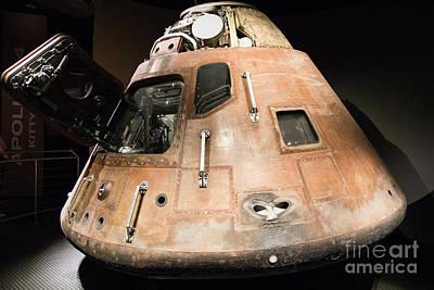 Photograph - Apollo 14 Command Module by Suzanne Luft