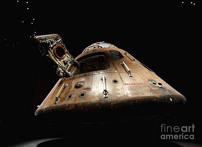 Historical Digital Art - Apollo 14 by Glennis Siverson