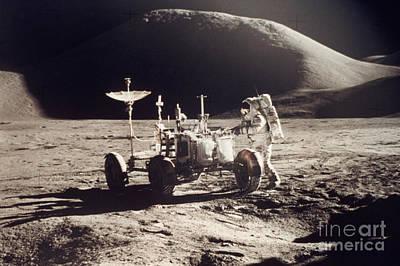 Apollo 15 Photograph - Apollo 15, 1971 by Granger