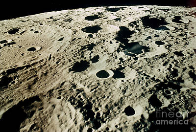 Photograph - Apollo 15: Moon, 1971 by Granger