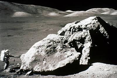 Photograph - Apollo 17, December 1972: by Granger