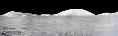 Apollo 17 Panorama Art Print by Stocktrek Images