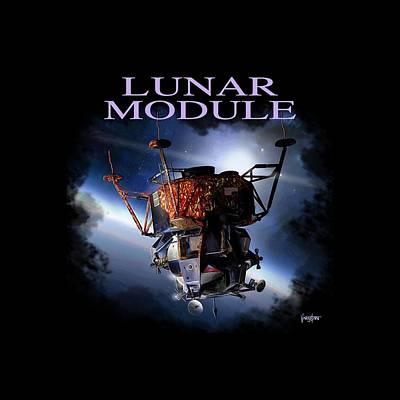 Apollo 9 Lm Art Print