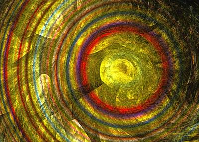 Digital Art - Apollo - Abstract Art by Sipo Liimatainen