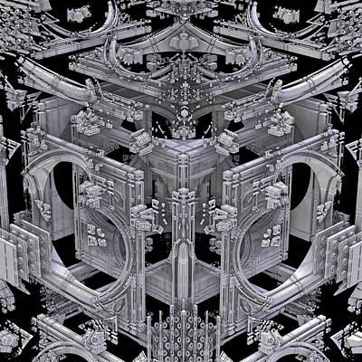 Recondite Digital Art - Apollo Deconstruct by GT Graeff