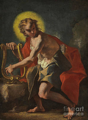 Half God Painting - Apollo by Nicolo Grassi
