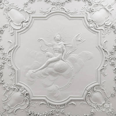 Photograph - Apollo Room Ceiling In The Dublin Castle by RicardMN Photography