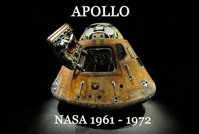 Photograph - Apollo Space Program by David Lee Thompson