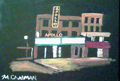 Apollo Theater Wall Art - Painting - Apollo Theater New York City by Michael Chatman