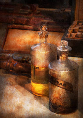 Savad Photograph - Apothecary - Special Medicine  by Mike Savad