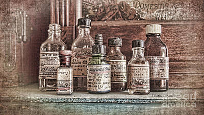 Photograph - Apothecary by Laurinda Bowling