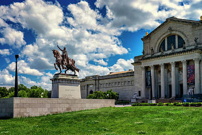 Photograph - Apotheosis Of St Louis And Art Museum_dsc4885 by Greg Kluempers