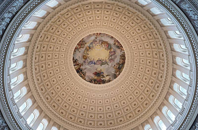 Photograph - Apotheosis Of Washington by Jared Windler