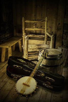 Photograph - Appalachian Banjo by Randall Nyhof