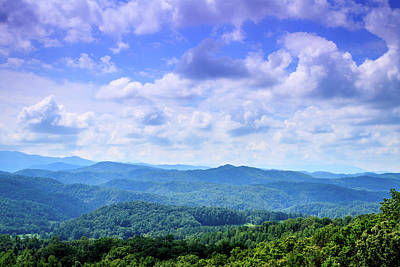 Photograph - Appalachian Beauty - Mountain Landscape by Barry Jones