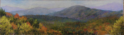 Pastel - Appalachian Fall by Susan Jenkins