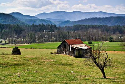 Photograph - Appalachian Farm Barn by Douglas Barnett