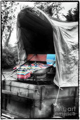 Wagon Train Digital Art - Appalachian Front Porch  by Steven Digman