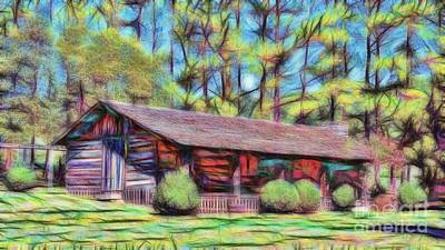 Photograph - Appalachian Home by D Hackett