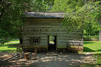 Photograph - Appalachian House by Fred Stearns
