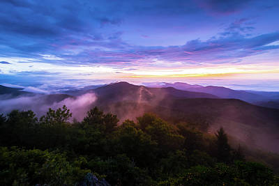 Photograph - Appalachian Mountain Sunrise by Serge Skiba