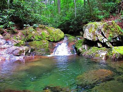 Photograph - Appalachian Oasis by Joshua Bales
