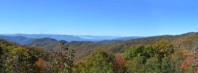 Photograph - Appalachian Ridge by rd Erickson