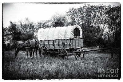 Wagon Train Photograph - Appalachian Shipwreck  by Steven Digman