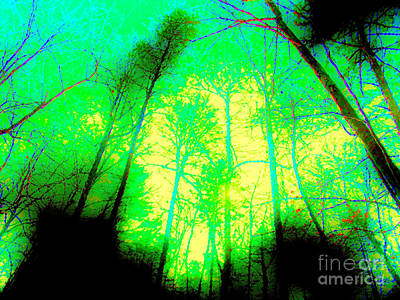 Indian Cherokee Digital Art - Appalachian Sun - Abstract by Anita Faye