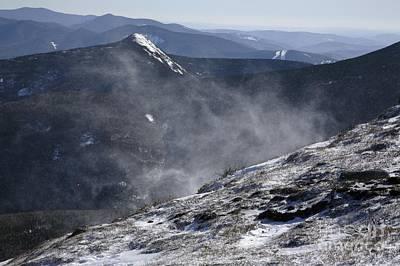 Appalachian Trail - Franconia Ridge-white Mountains New Hampshire Art Print by Erin Paul Donovan