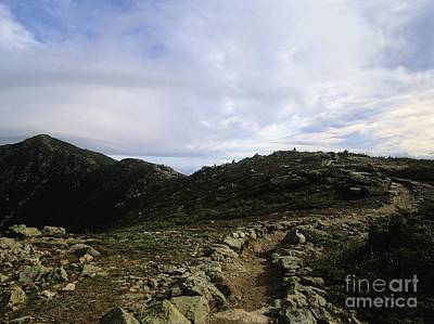 Appalachian Trail - Mount Lincoln - White Mountains New Hampshire Usa Art Print
