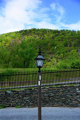 Photograph - Appalachian Trail In West Virginia Goes Through Harpers Ferry by Raymond Salani III