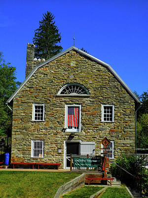 Photograph - Appalachian Trail Museum Along The Pa At by Raymond Salani III