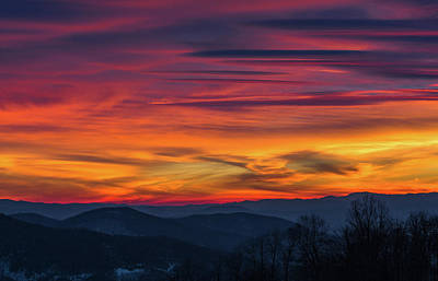 Photograph - Appalachian Twilight Ecstasy by Carl Amoth