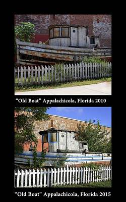 Photograph - Appalachicola Old Boat by Laurie Perry