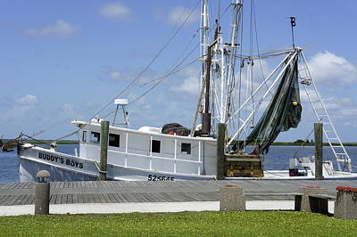 Photograph - Appalachicola Shrimp Boat by Laurie Perry